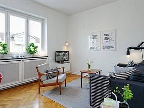 北欧清新风情客厅装修