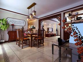 別墅中式裝修古韻軒