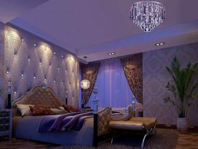 歐式風格臥室背景墻裝修效果圖