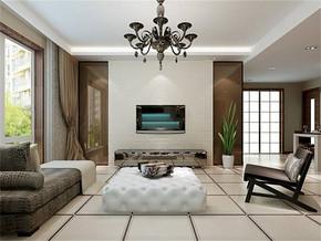 現代簡約風格客廳最新家裝圖片