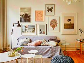客廳照片墻裝修效果圖