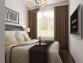 現代女孩的房間設計圖裝修效果