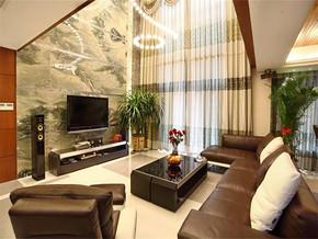 現代簡約風格130平米客廳簡單裝修效果圖