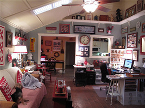 美式風格小客廳裝修效果圖