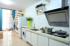 小型厨房装修效果图