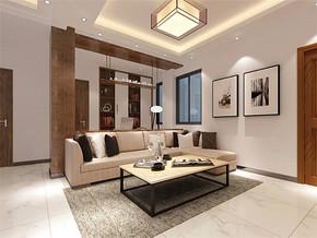 现代风格家装客厅效果图