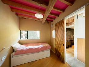 质朴北欧风格儿童房浪漫吊顶设计图