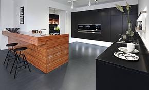 日式风格厨房吧台装修效果图