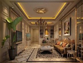 古典風格客廳效果圖