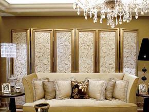 欧式客厅背景墙装修效果图