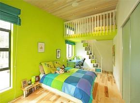 現代小清新風格兒童房裝修效果圖