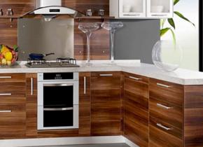 中式風格廚房櫥柜裝修效果圖