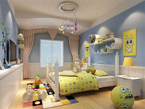 小户型儿童房间装修效果图