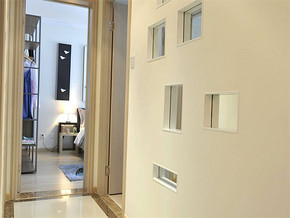 現代風格臥室過道裝修圖片