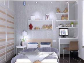 簡約風格臥室裝修效果圖